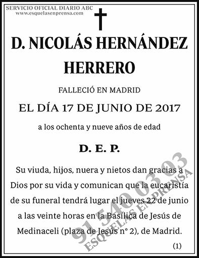 Nicolás Hernández Herrero